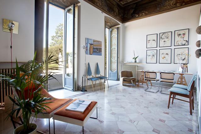 visita privata: casa canvas - anni '50 - soggiorno - milano - di ... - Soggiorno Anni 50