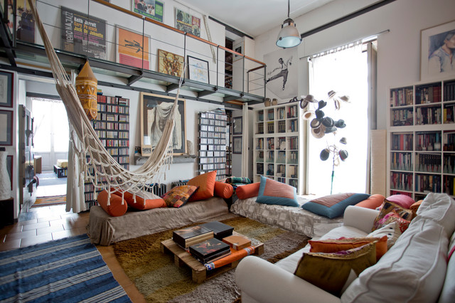 Visita privata casa diego eclettico soggiorno napoli for Arredamento della casa