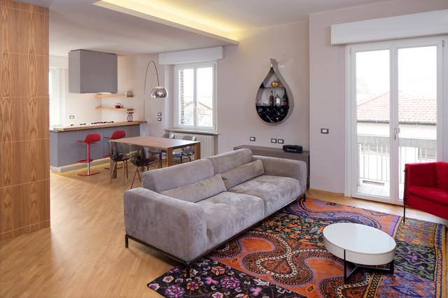 Ambienti Living Moderni.Vista Ambiente Living Modern Living Room Bologna By