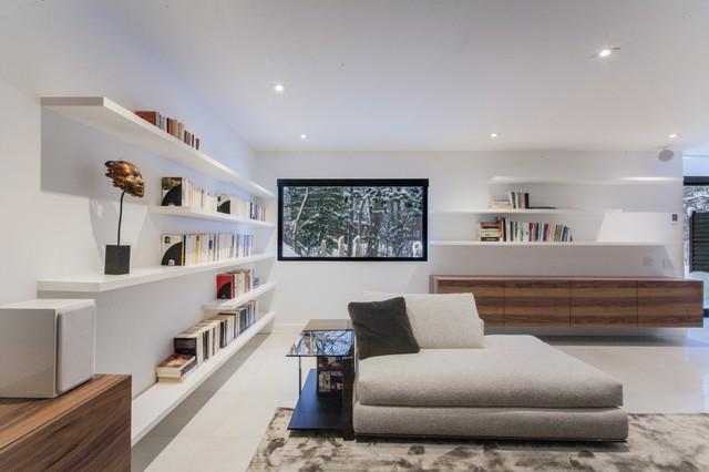 design intérieur contemporain - Contemporain - Sous-sol - Montréal ...