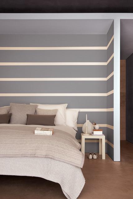 Foto di una camera da letto minimalista