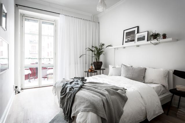 bostadsfoto skandinavisk-sovevaerelse