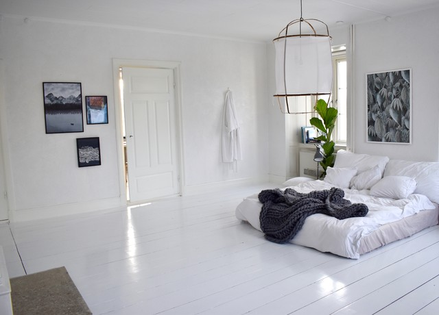 Houzz tour scandinavian bedroom