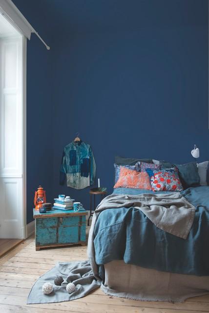 Kulörkoll: Hitta den perfekta nyansen för ett blått sovrum