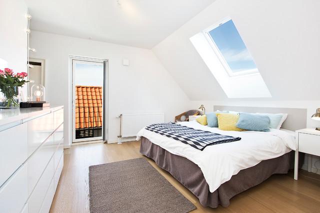 Sovrum scandinavian-bedroom