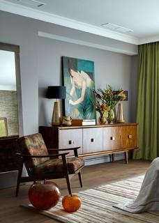 Дом в Петровском - Contemporary - Bedroom - Moscow - by Женя Жданова