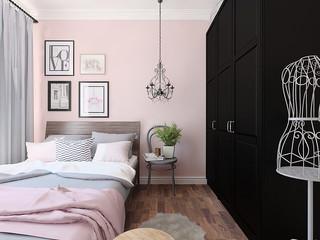Квартира двухкомнатная 北欧-寝室