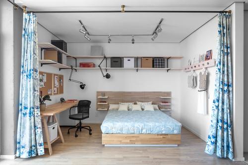 Однокомнатная квартира-студия 40 м² в ЖК Комфорт Таун