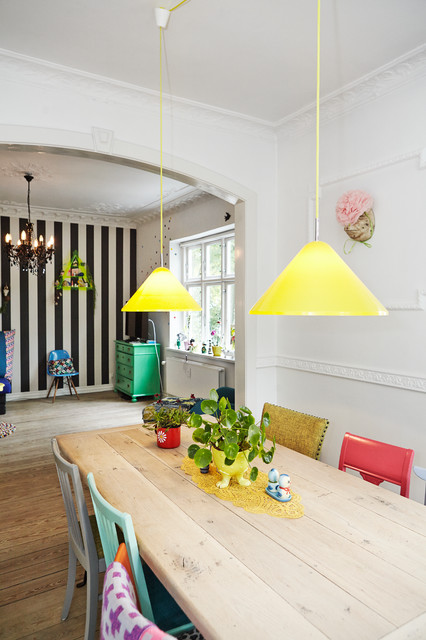 Houzz Tours Anne Rimmer Eclectic Dining Room