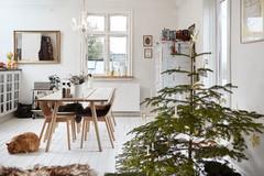 Houzz Дания: Сканди-шик —новогодний декор из природных материалов