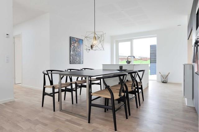 Indretning 1 plans prøve bolig i Aarhus