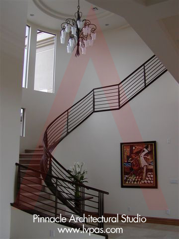 03119_Private Residence contemporary-staircase