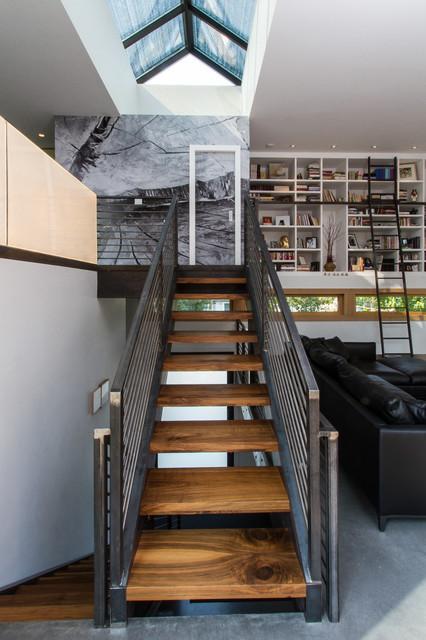 1 Wren Residence contemporary-staircase
