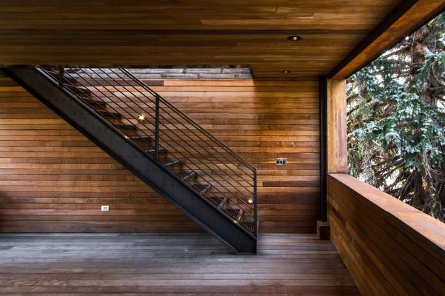 1 Wren Residence industrial-staircase