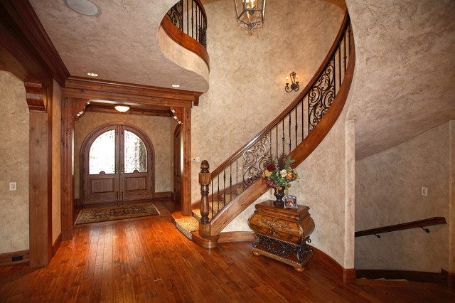 1024 Northshore Road traditional-staircase