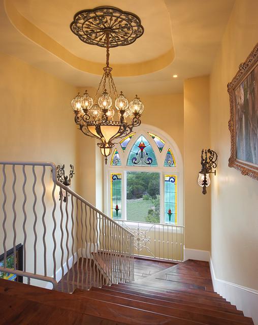 13229 Villa Montana mediterranean-staircase
