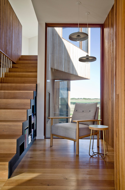 13th Beach House Stair And Reading Nook Contemporary