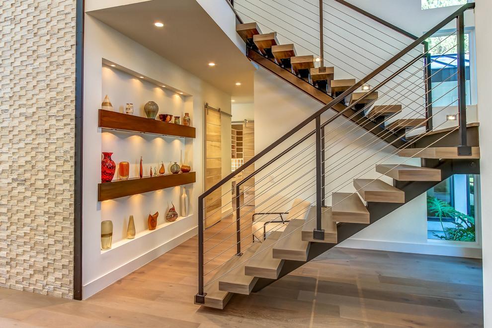 15 Anchor Bay Court - Contemporary - Staircase - Atlanta ...