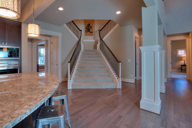 16 Grand Staircase The Palermo Home Design Traditional