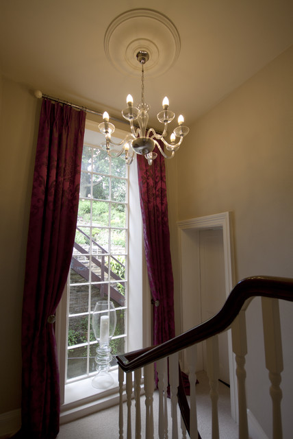 18th century hallway traditional staircase for 18th century window treatments