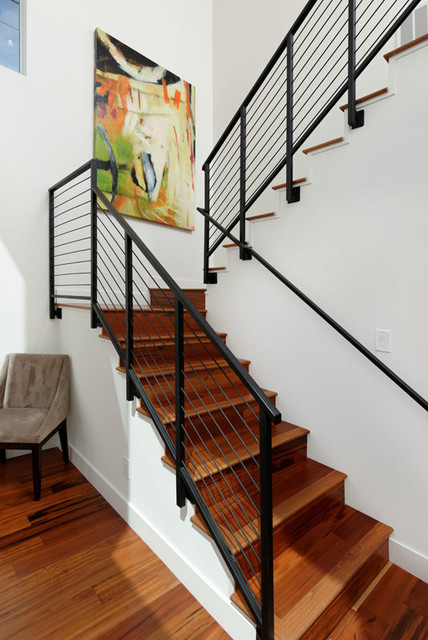 1928 Howard contemporary-staircase