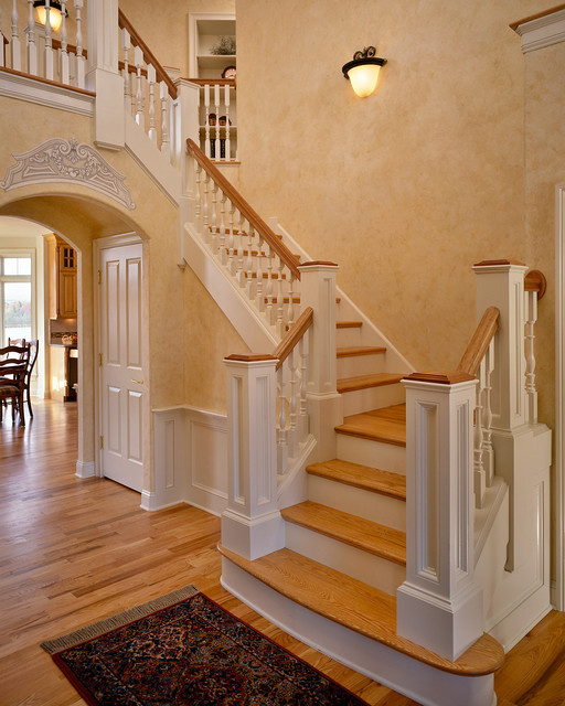 1998 Showcase traditional-staircase