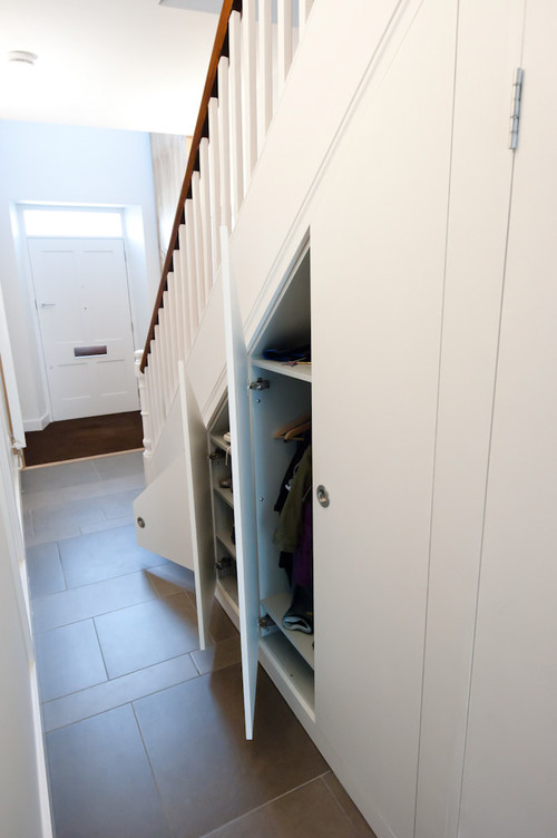 Idea  1 Close off the space under stairs use individual hinged doors for storage How to effectively inspiration