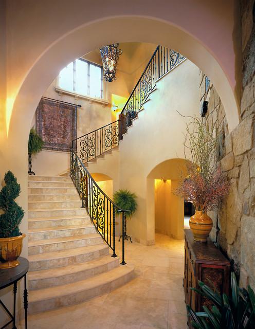 Mediterranean Staircase Tower : Best in american living award winner mediterranean