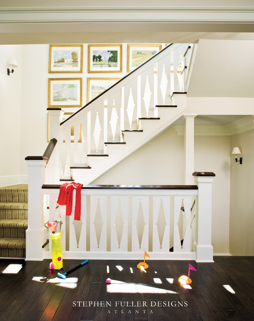 2009 Idea House for Southern Living Magazine traditional-staircase