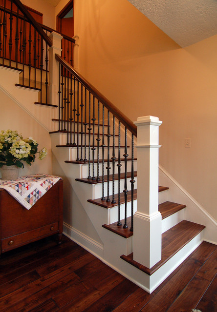 2009 Whole House Remodel traditional-staircase