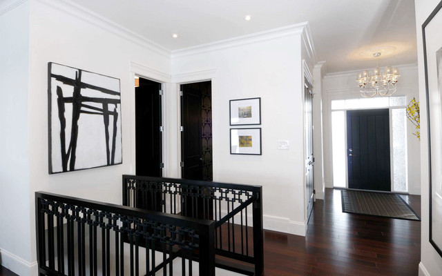 2010 HHL - Custom Railing contemporary-staircase
