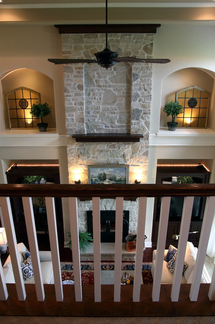2010 Parade Of Homes - Sequoia traditional-staircase