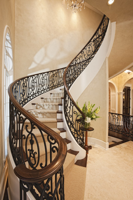 2011 Spring Dream Home - Merilane traditional-staircase