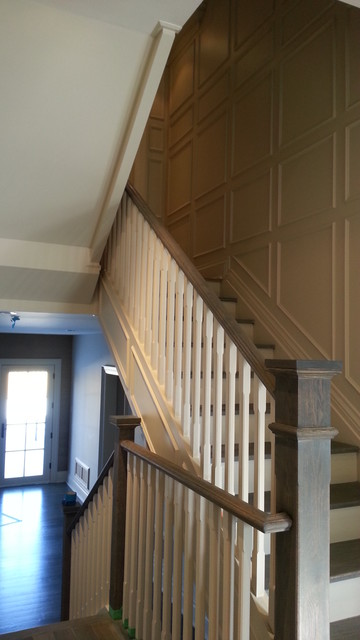 2012 back split house-North York, Ontario traditional-staircase