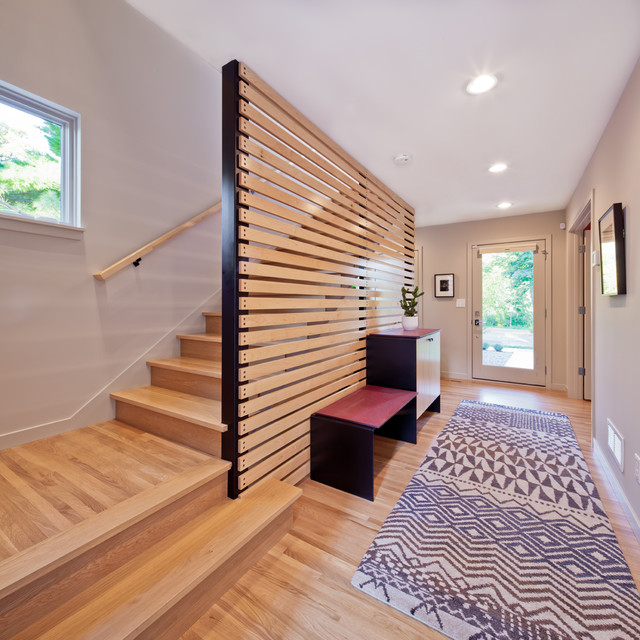 2012 Remodelers Showcase Modern Staircase Minneapolis By Quartersawn Design Build