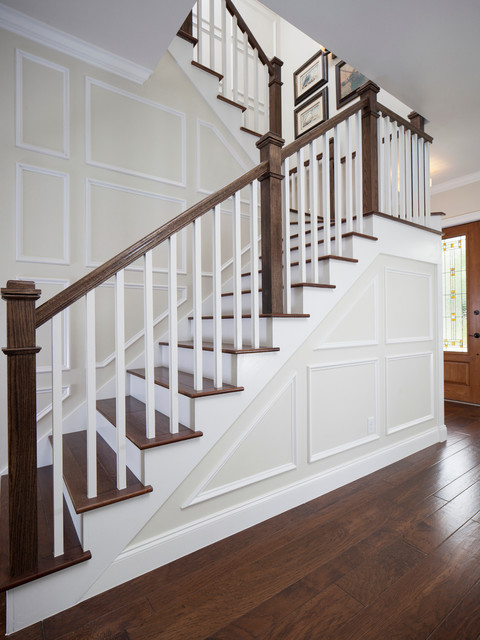 2013 New Southern Home Farmhouse Staircase Other