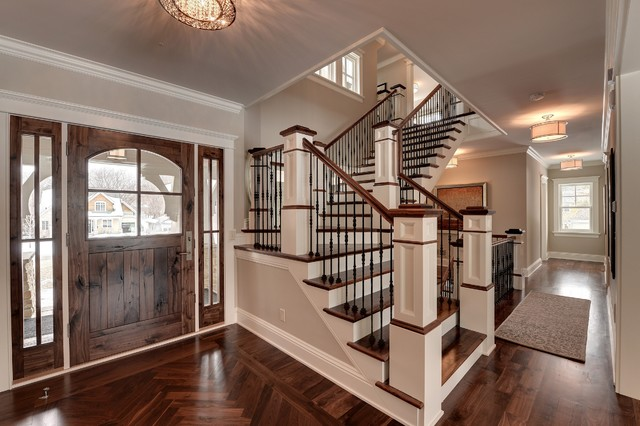 2013 Parade Of Homes Dream House Traditional Staircase