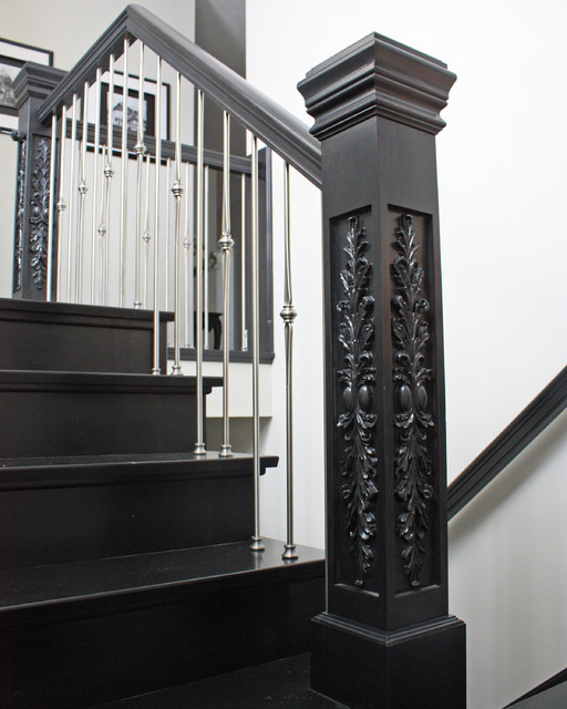 2013 SMA StairCraft Award - Best Stair Part traditional-staircase