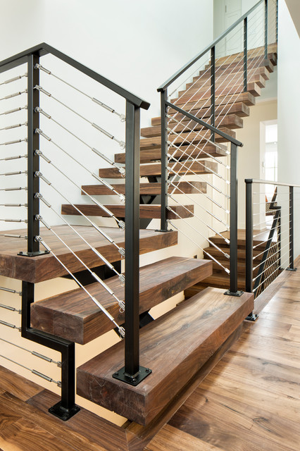 2016 Artisan Home Contemporary Staircase Minneapolis