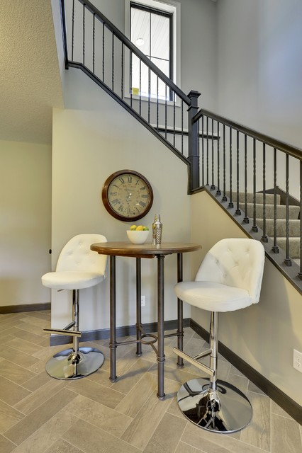 2016 Fall quotReggie Awardquot Model Home Saddle Club Lino  : transitional staircase from www.houzz.com size 426 x 640 jpeg 63kB