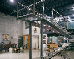 209 N 12th Street Loft contemporary-staircase