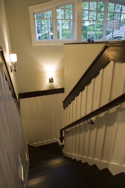 21st Century Bungalow traditional-staircase