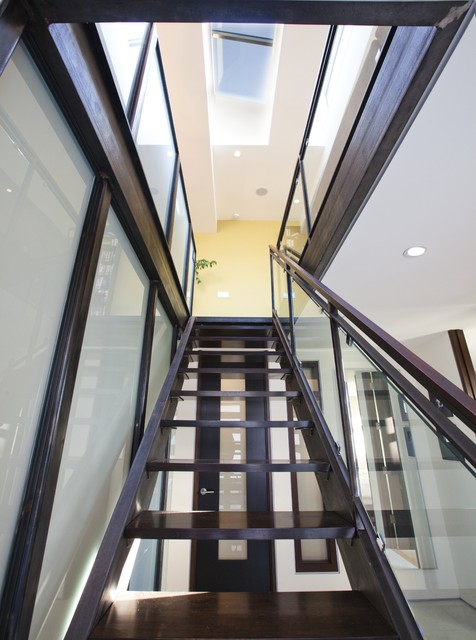 22nd - Lower modern-staircase