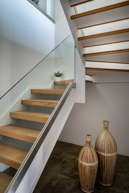 255 Bowery Staging Modern Staircase New York By TAHAR D COR