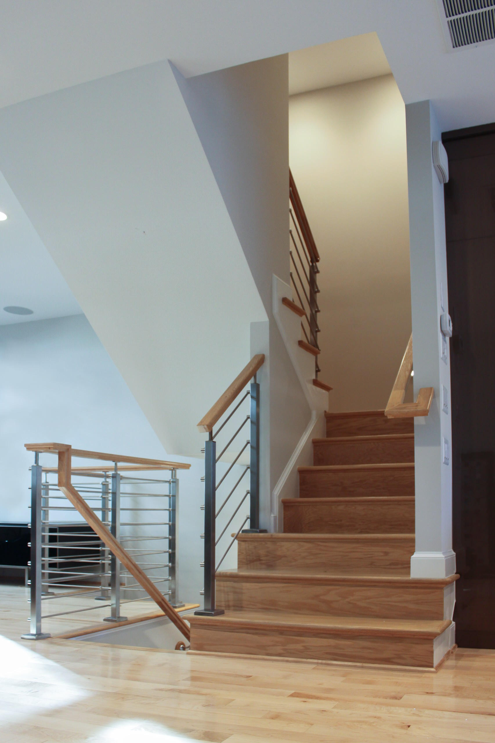 26_Modern Staircase to Private Rooftop, Arlington VA 22209