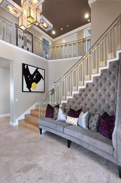 27 Diamonds Interior Design contemporary-staircase