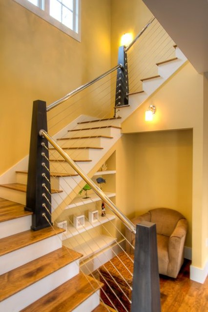 295 Pine Needle Way, Watercolor beach-style-staircase