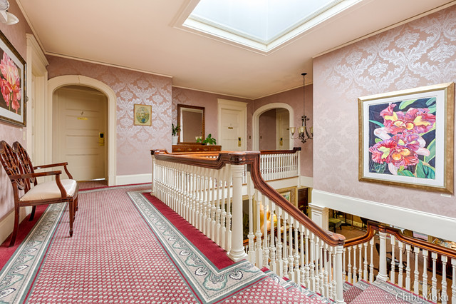 2nd Floor Hallway traditional-staircase