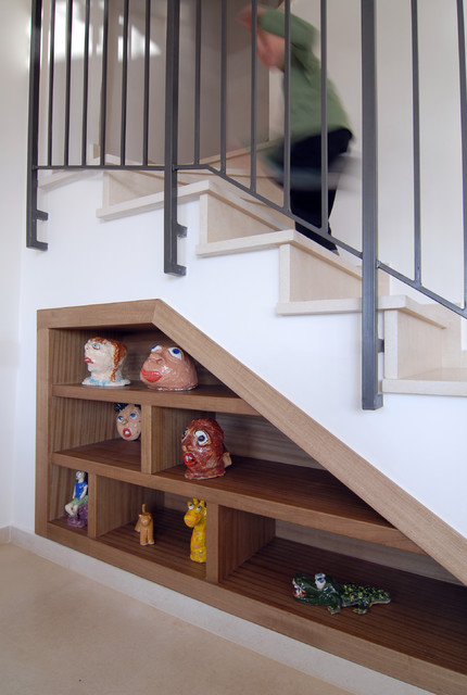 3 floors appartment mediterranean staircase