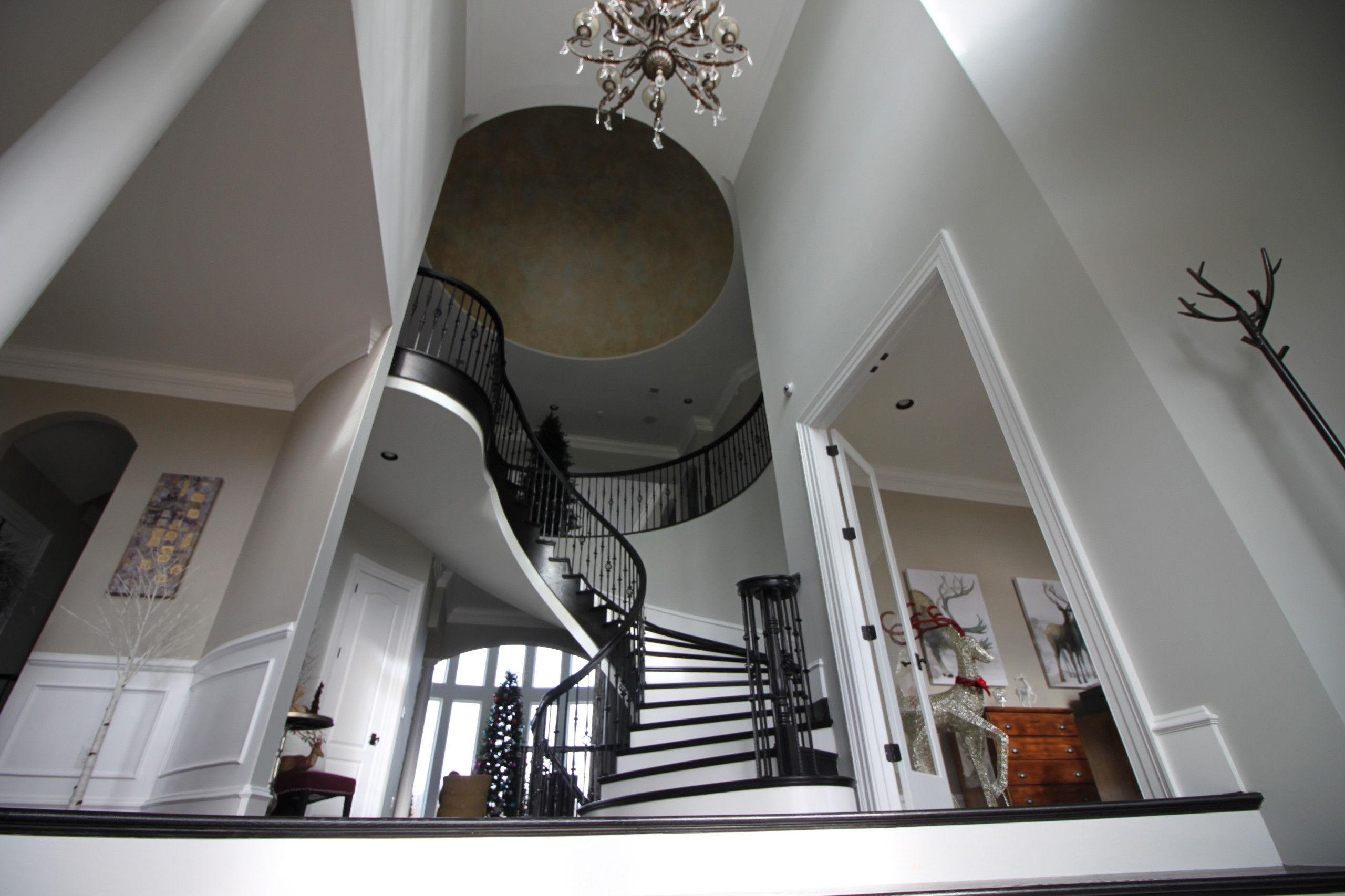 36_Exquisite Custom Flowing-Staircase in Phenomenal Home, Haymarket VA 20169